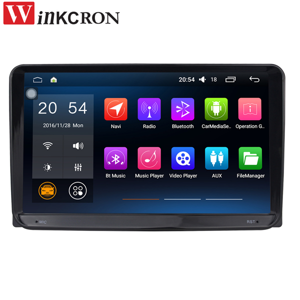 9Automotive Multimedia Player Double 2Din Head Unit For VW Android 6.0 Quad Core Car Audio Stereo Tape Recorder GPS Navigation