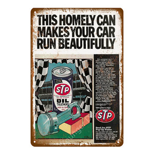 Image 3 - Motor Oil And Gasoline Metal Signs Motorcycles Car Trucks Tires Garage Decor Wall Plaque Art Poster Pub Bar Club Store Tin Plate