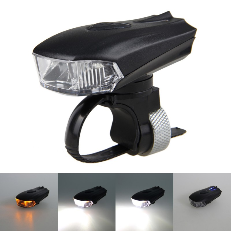 Bicycle Smart Head Light Bike Intelligent Front Lamp USB Rechargeable Handlebar LED Lantern Flashlight Movement Action Sensor wheel up bicycle head light bike intelligent led front lamp usb rechargeable cycling warning safety flashlight light sensor