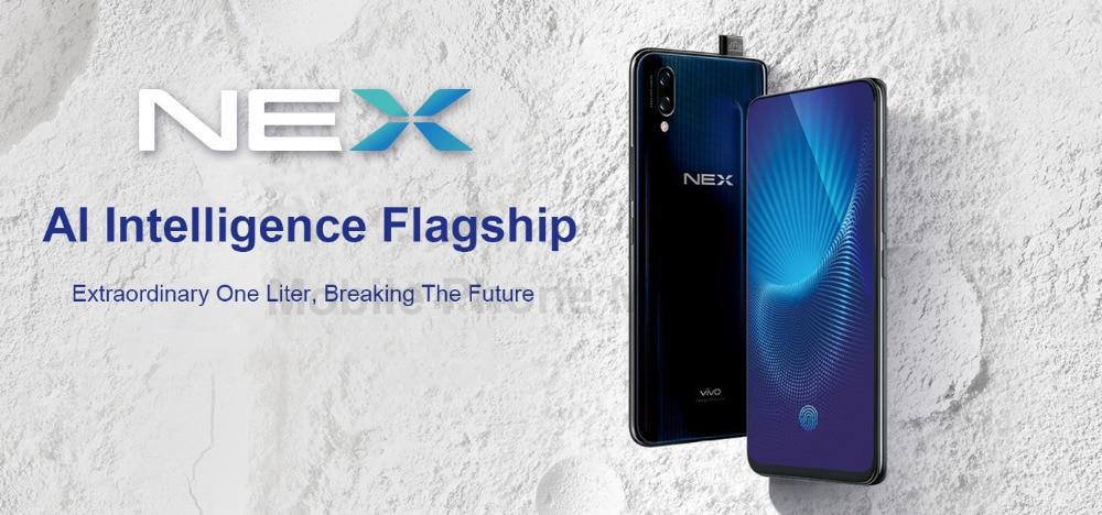 Original Vivo Nex 4G LTE Mobile Phone 6GB RAM 128GB ROM Snapdragon710 Octa  Core 6 59 Full Screen 12 0MP Fingerprint ID OTG Smart Cell Phone