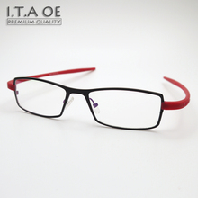 ITAOE Brand T3614 Full Rim Fashion TAG Style Alloy TR100 Men Women Myopia Reading Optical Eyewear Frames Glasses Spectacles