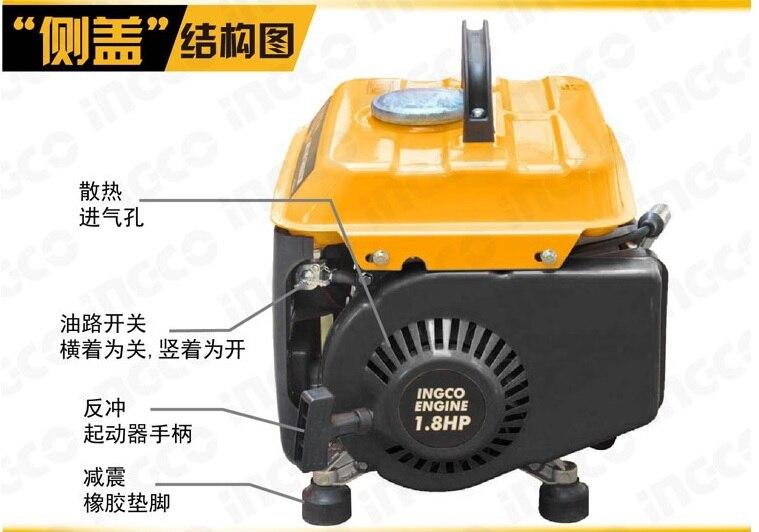 Бензиновый генератор 650 2 62.8 .