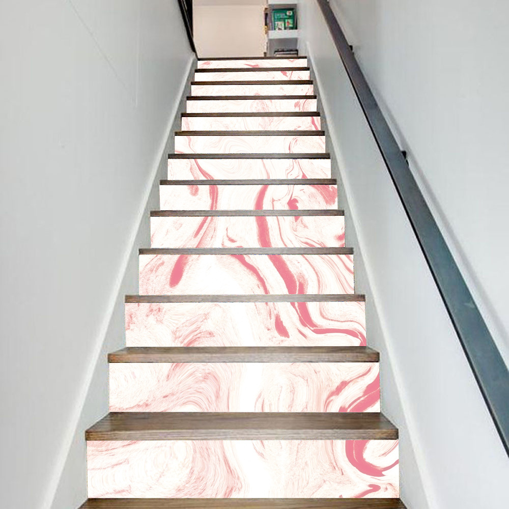 13pcs/set Large Size Marble Stair Wall Sticker Steps Stair Stickers Removable Stair Sticker Home Decor DIY Stickers Drop Order13pcs/set Large Size Marble Stair Wall Sticker Steps Stair Stickers Removable Stair Sticker Home Decor DIY Stickers Drop Order