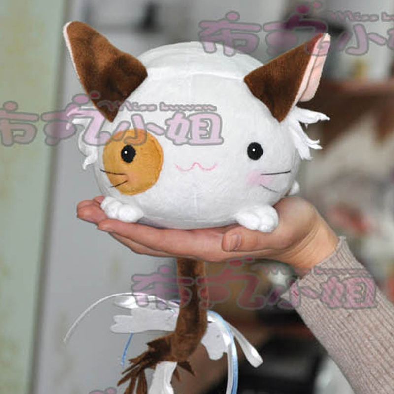 Pure White Symphony Plush Doll Anime cosplay Mashiroiro Symphony pet cat pillow Stuffed & Plush Cartoon Doll for gift 19CM