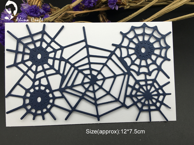 AlinaCraft METAL CUTTING DIES cut spider man web net Hallows ...