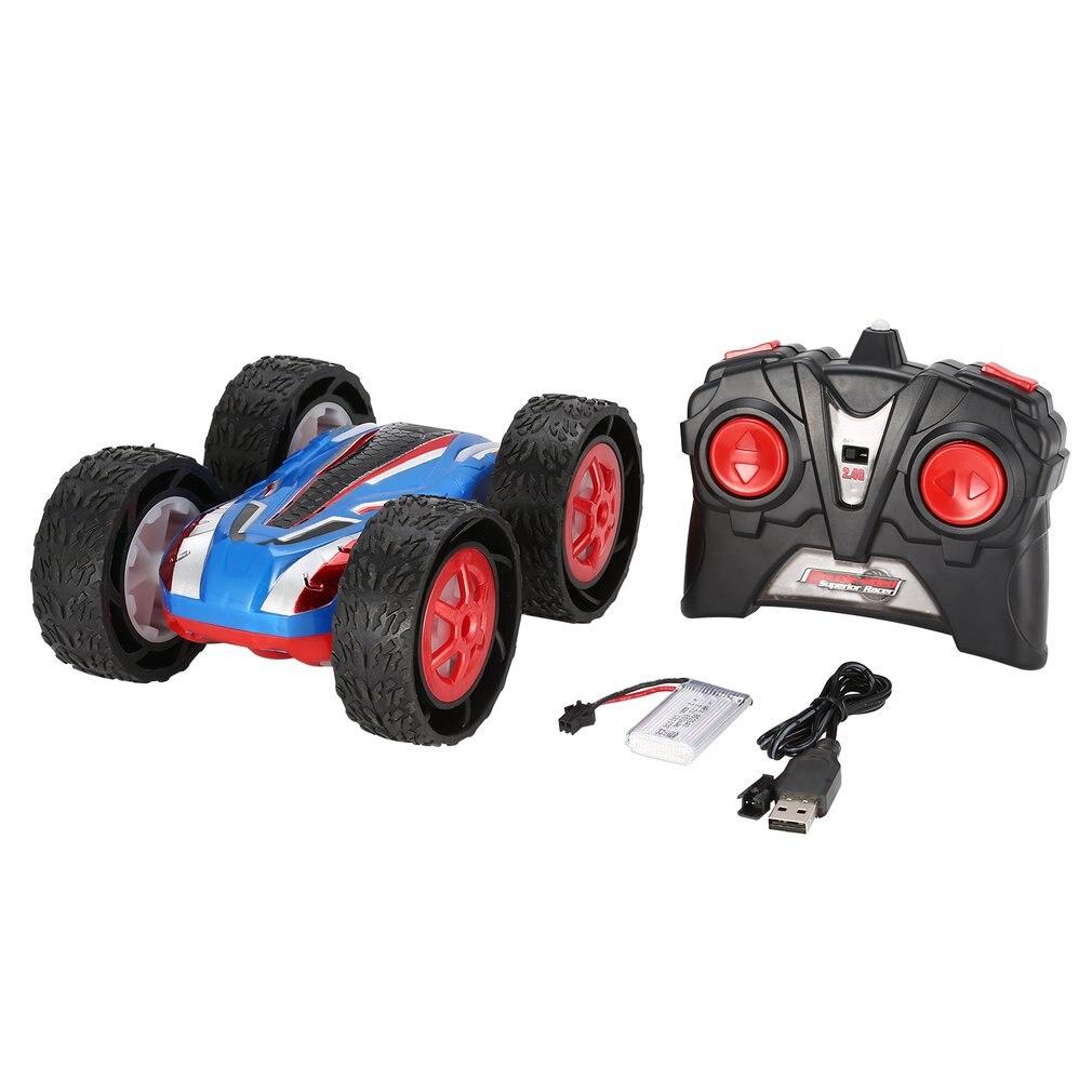 Double face Flip RC cascadeur voiture saut Bug cascadeur haute vitesse véhicules tout-terrain course SUV voiture enfants jouet