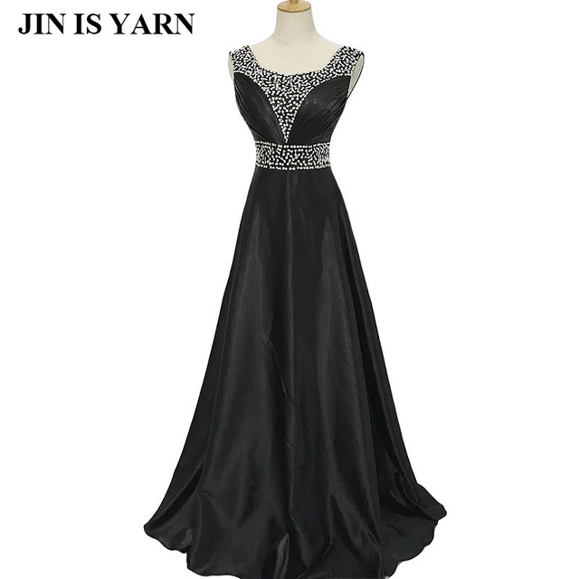 Free Shipping New 2018 V-Neck Fashion Formal long design Plus size Silk  Zuhair murad Beading Party Evening dress Vestido Gown cad63a5e48ff