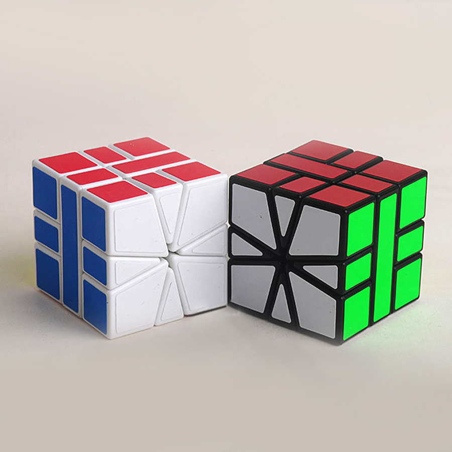 Intelligence Magic Cube Square Puzzle Games Children Learning Resources Brinquedo Polymorph Plastic Cubos Creative Toys 60D0668