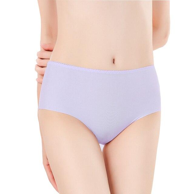 6505596c19df ... Panties Women Seamless Sexy Lingerie Ice Silk Underwear Girls Solid  Comfort Traceless Summer Briefs. Previous. Next
