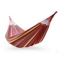 2 شخص hamac outdoor الترفيه سرير معلق سرير نوم مزدوجة قماش أرجوحة أرجوحة التخييم الصيد 2 لون