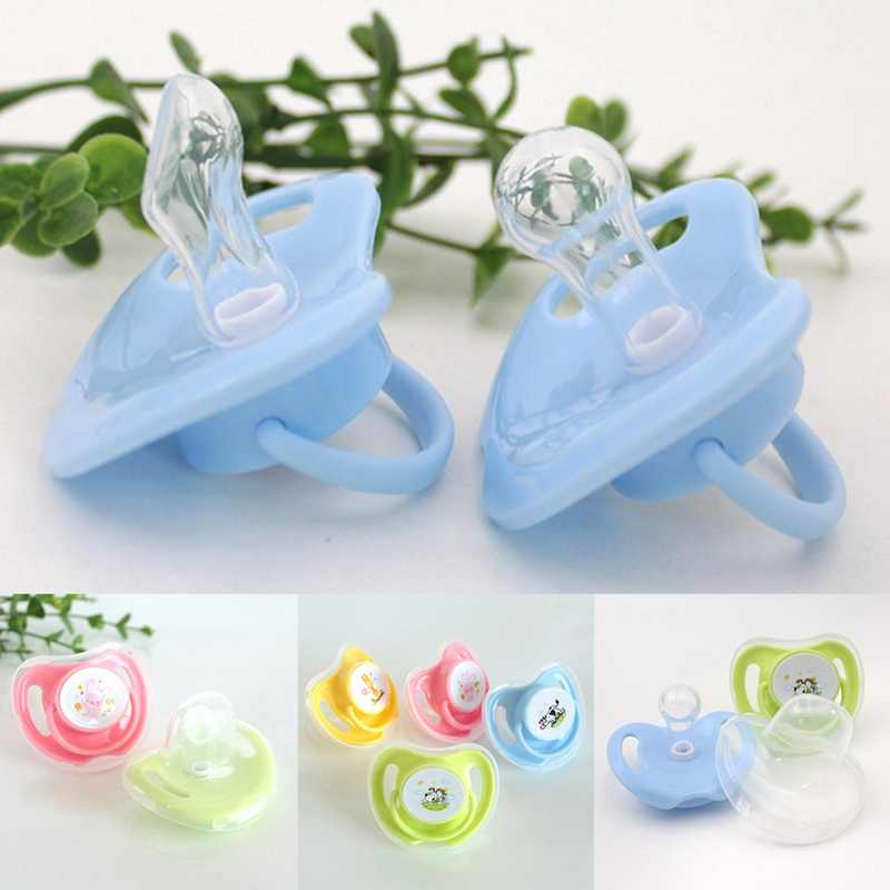 1 Pcs Food Grade Silicone Baby Pacifiers Soother Infant Dummy Nipple Teat Toddler Silicone Soothers Newborn Bebe Pacifier