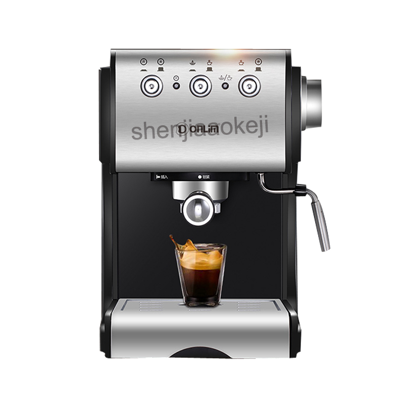 20bar stainless steel Coffee machine DL KF500S Semi automatic Italian coffee machine Commercial steam milk foam coffee maker 1PC|Coffee Makers| |  - title=