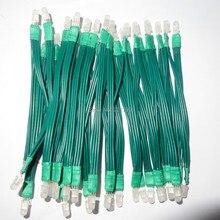 غير مقاوم للماء 5 مللي متر عنونة rgb كامل اللون عقدة البيكسل ؛ DC5V ؛ شريحة PL9823 (على غرار WS2811/UCS1903/TM1804/INK1003)