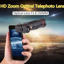 NEW mobile phone 22x Camera Zoom optical Telescope telephoto Lens Cellphone HD 4K Camera Lenses for IPhone Sumsung huawei xiaomi tokohansun hd mobile phone telephoto lens 12x zoom telescope camera lenses with clip for iphone 6s 5s 7 8 huawei xiaomi samsung