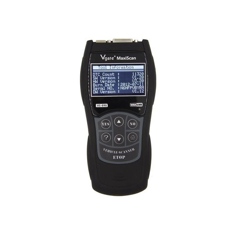 Vgate VS890 MaxiScan outil de Diagnostic universel multi-langue Auto Scantool OBD OBD2 lecteur de Code professionnel automobile