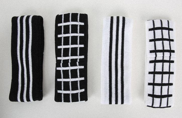 120pcs lot knitted sport black and white plaid headband hair band.striped  headband-in Hair Accessories from Women s Clothing   Accessories on  Aliexpress.com ... d9001de1b79