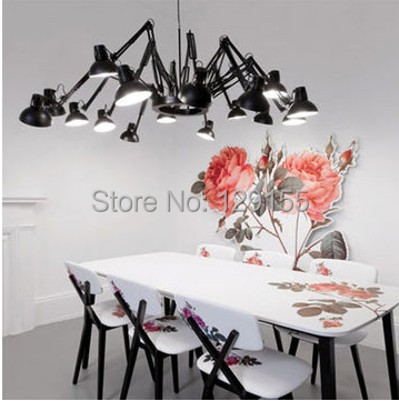 Modern 16 lamp ceiling light chandelier scaleable spider pendant modern 16 lamp ceiling light chandelier scaleable spider pendant lamp moooi ron ce in pendant lights from lights lighting on aliexpress alibaba aloadofball Image collections