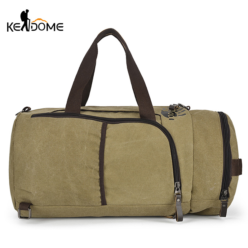 Symbol Of The Brand Multifunction Gym Bag Men Women Travel Duffle Luggage Backpack Male Canvas Tote Bag Shoulder Handbag Mountaineer Hiking Xa57d Climbing Bags Camping & Hiking