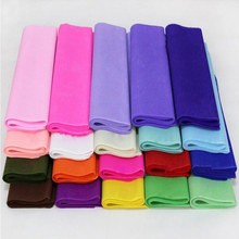 20Pcs/lot Colored Wrapping Paper For DIY Wedding/Flower Decor 50*50CM Gift Packing Paper 10-001