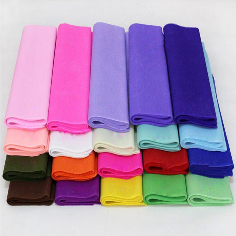 20pcs Lot Colored Wrapping Paper For Diy Wedding Flower