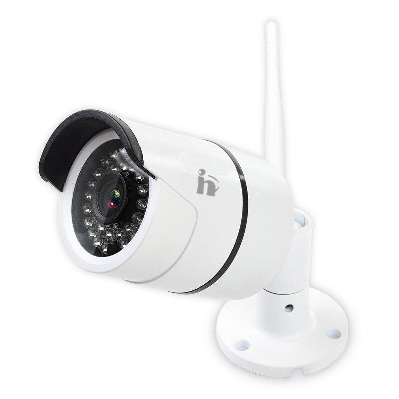 imágenes para H envío gratuito al aire libre impermeable 720 P cámara IP Wifi Camara bullet Visión Nocturna cam IRCut Onvif P2P seguridad para el hogar camara