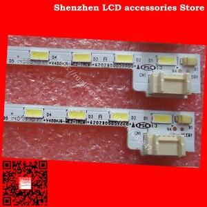 Image 1 - 2Pieces/lot   FOR  Sharp  M00078N31A51R0A  V400HJ6 ME2 TREM1  LED 1PCS=52LED   490MM  LED  1PCS=52LED   490MM