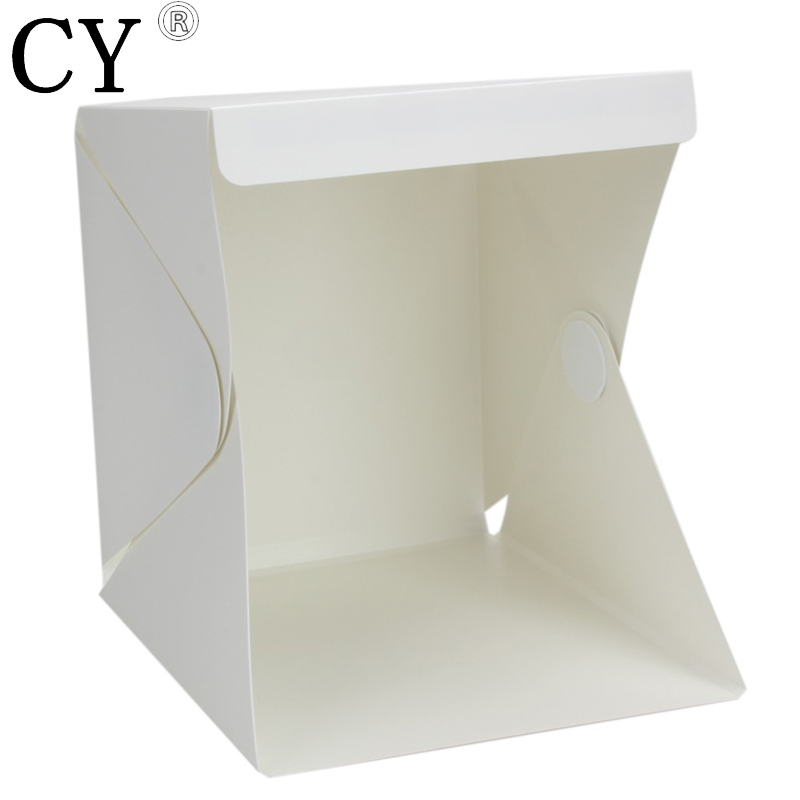 Inno Portable 30*30*30CM Mini Folding Softbox Photography Studio Softbox LED Light Soft Box for iPhone Samsang HTC DSLR Camera