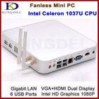 8GB&1TB Windows 7 OS Thin Client Mini Desktop, Dual core Intel Celeron1037U 1.8Ghz HDMI Dual antenna WIFI 3D Game