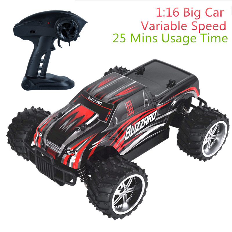 9505 1:16 Radio-Controlled Cars Radio Machine RC Car Adjustable Speed Off-Road Vehicles Drift Remote Control Cars For Kids Boys
