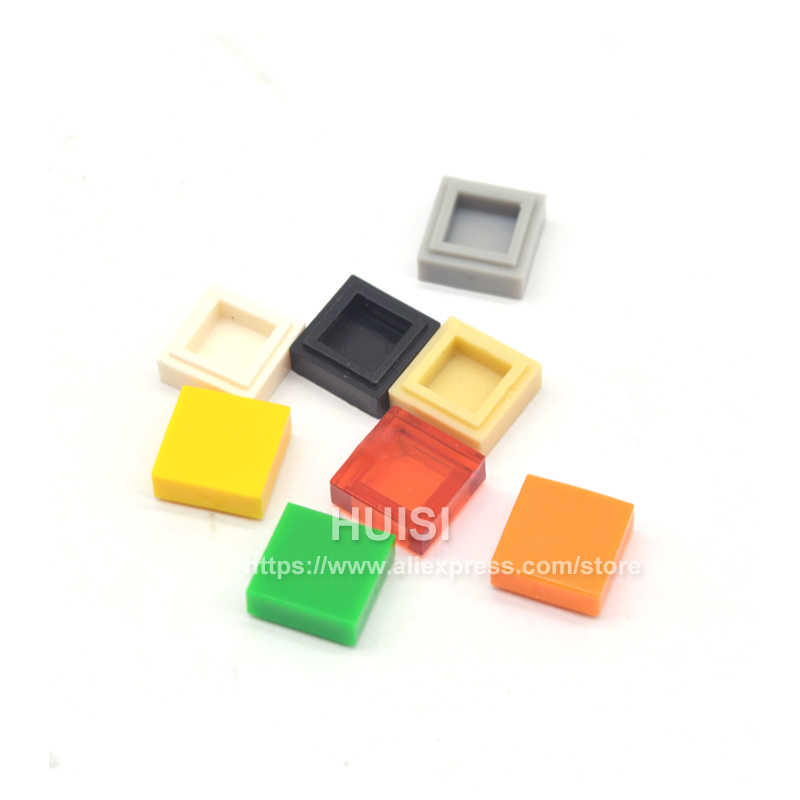 Compatible With Legoe Pieces 1x1 Tiles Buidling DIY Toys Blcoks Smooth Finishing Tile Flat Bricks Parts MODULAR BUILD Kids Toys