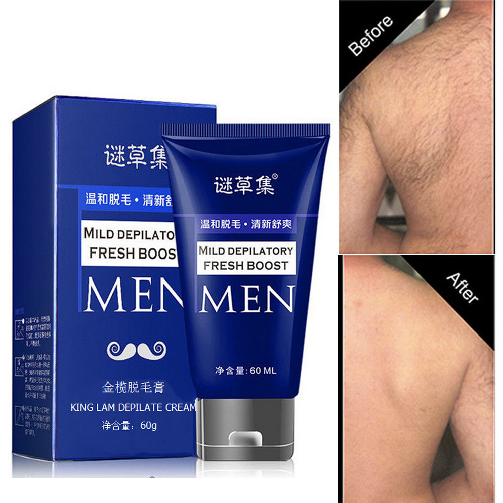 Man's Permanent Body Hair Removal Cream Hand Leg Hair Loss Depilatory Removal Cream maquiagem profissional completa Free Ship