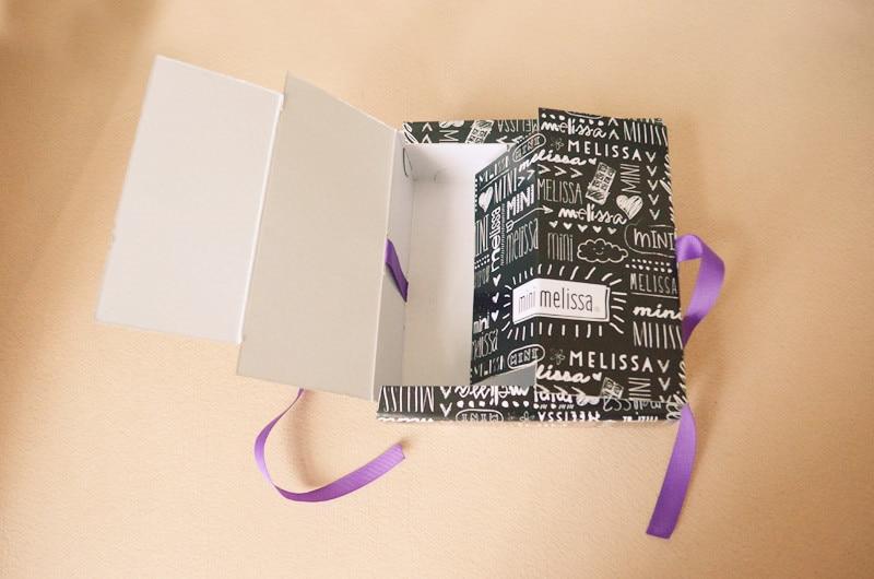 Mini Melissa Original Shoe box Gift box for Son and daughter