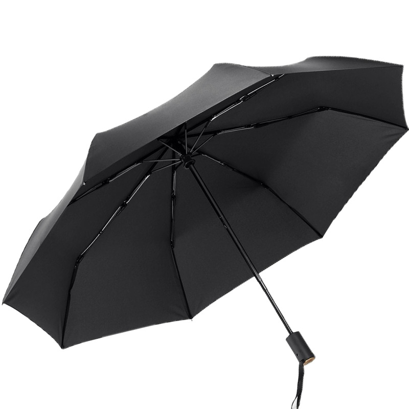 Grande Qualidade Vento Chuva Guarda chuva Automático Cheio 8 K Revestimento  Preto de Luxo Grande À Prova de Vento Homens de Negócios Guarda chuva Novo  em ... dc7f0642bc