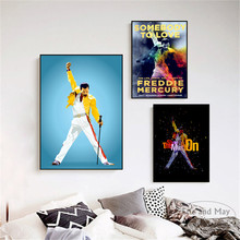Freddie Mercury Rock n Roll Art Wall Pictures Posters Prints Canvas Unframed Paintings Decoration Modern Home Decor Cuadros