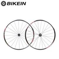 BIKEIN 2017 Arrival Aluminum 6 Bearing Cycling Road Bike Wheels 700C 14G Spokes Rim 9 10