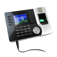New 2 4inch TFT Color Screen Fingerprint Attendance Time Clock For Track Employee Time