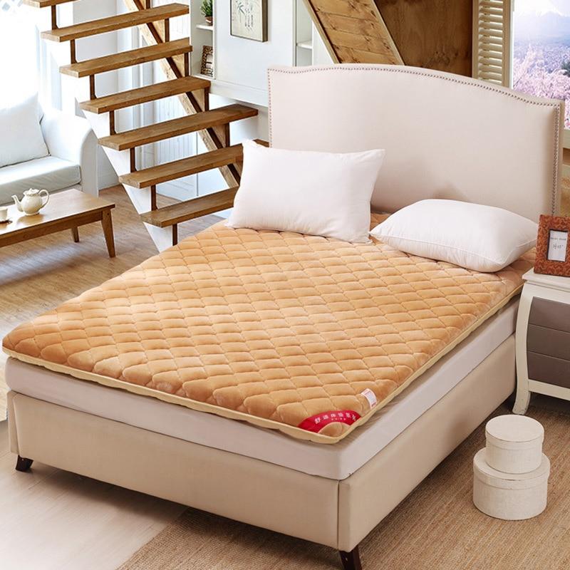 Home Textiles Mattress 1.8m Bed Mattress 1.5m Double Bedding Mattress 1.5m Bedroom Single Person Bed 0.9m 1.2m Sponge Tatami mattress