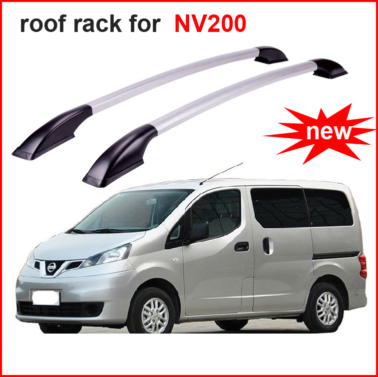 rack rail roof rack cross beam for Nissan NV200,aluminum alloy+ABS, decorate your car, Asia free shipping. электровелосипед cross rack 750