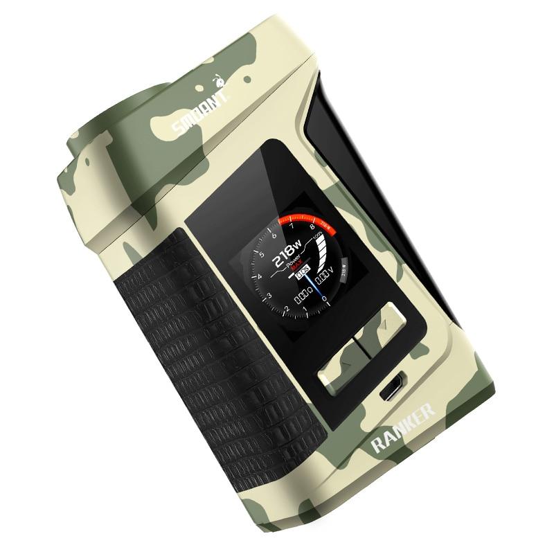цена на Smoant Ranker 218W tc box mod vape mod 18650 vape mods box e cigarette mod 18650 vaper mode box ecigarette pk vaporesso switcher