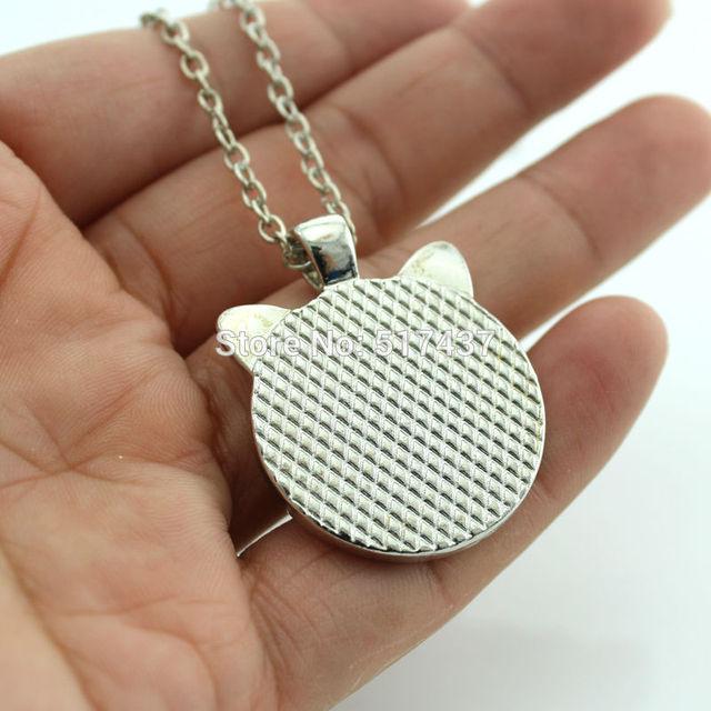 Cat Necklace for Pet Lovers Cat Pendant
