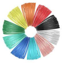 цены 10 Piece 3D Printer Filament for 3D Print Pen Multicolor Pack 1.75mm Polylactic acid