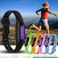 1 unid nueva marca mujeres hombres deportes relojes inteligentes relojes pulsera inteligente bluetooth pulsera banda para android para iphone regalo h4