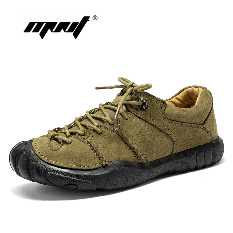 Natural Leather Vintage Men Shoes Lace Up Leather Casual Shoes Flats High Quality Platform Non-slip Rubber Autumn Shoes Men business men tie shallow mouth brown leather casual rivet shoes men s shoes round youth non slip rubber sole