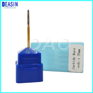 5 PCS high quality Dental Tungsten Carbide Burs FG Surg Endo-z 25mm for Extracting WisdomTeeth