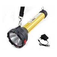 Đa năng 3 trong 1 camping flashlight torch cao power led flash light mạnh mẽ led đèn lồng có thể sạc lại cảnh báo tìm kiếm ánh