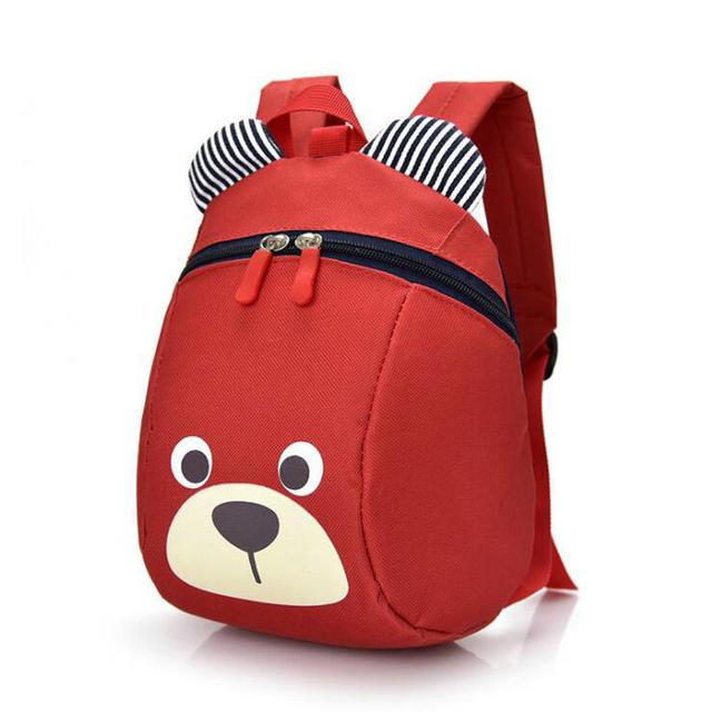 Toddler Cute Animal Bear Anti-Lost Backpack