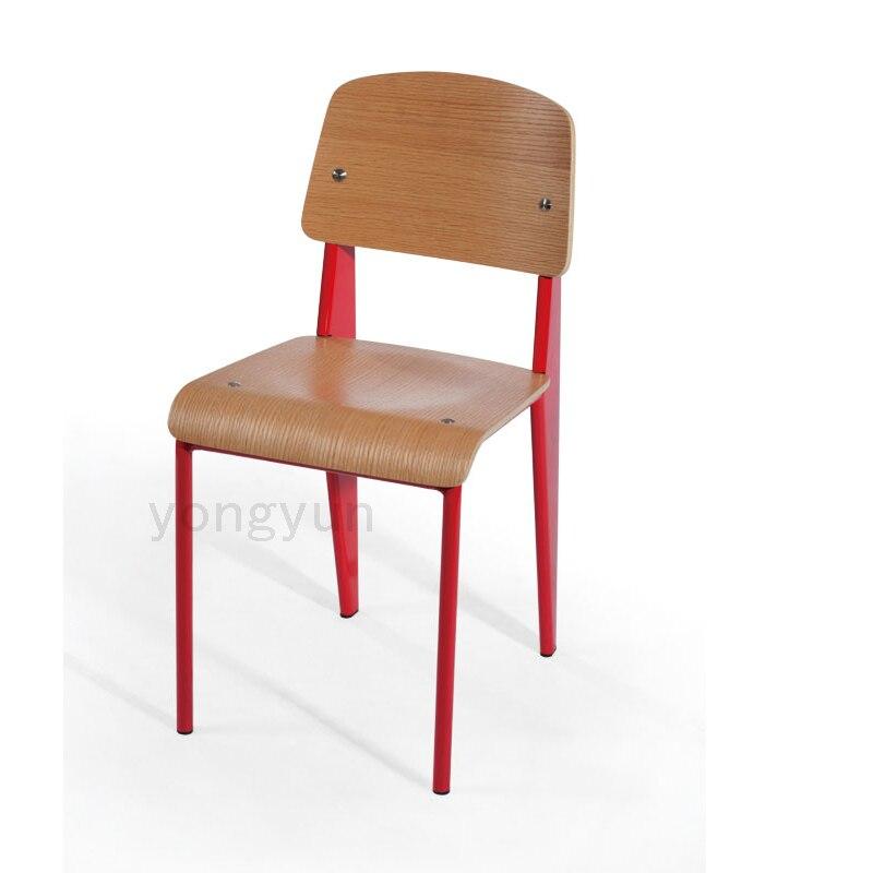 Stühle modern holz  Stahl holz stuhl stahl + holz stuhl klassischen moderne standard ...