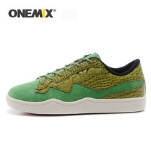 ONEMIX Men's Skateboarding shoes Athletic Shoes Breathable Walking Sport Outdoor Men Shoes outdoor walking Free Shipping EU39-45(China)