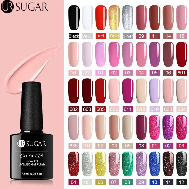 Aliexpress.com : Buy UR SUGAR 7.5ml UV Matte Glitter Gel