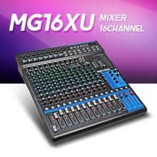Ya maha consule MG16XU 16 canales Mezclador de Audio profesional Mezclador Analógico de entrada Con LN de Compresión y Efectos para la Etapa DJ